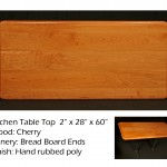 Cherry kitchen talbe