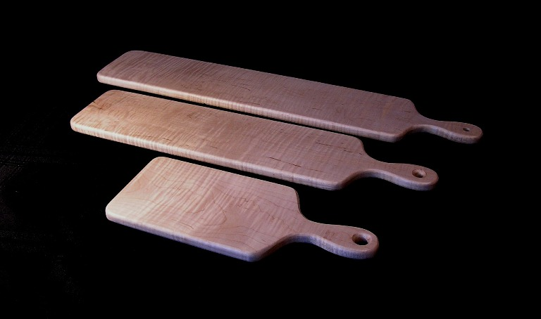 Cutting and Servicing Boards Wood: Fiddle Back Maple