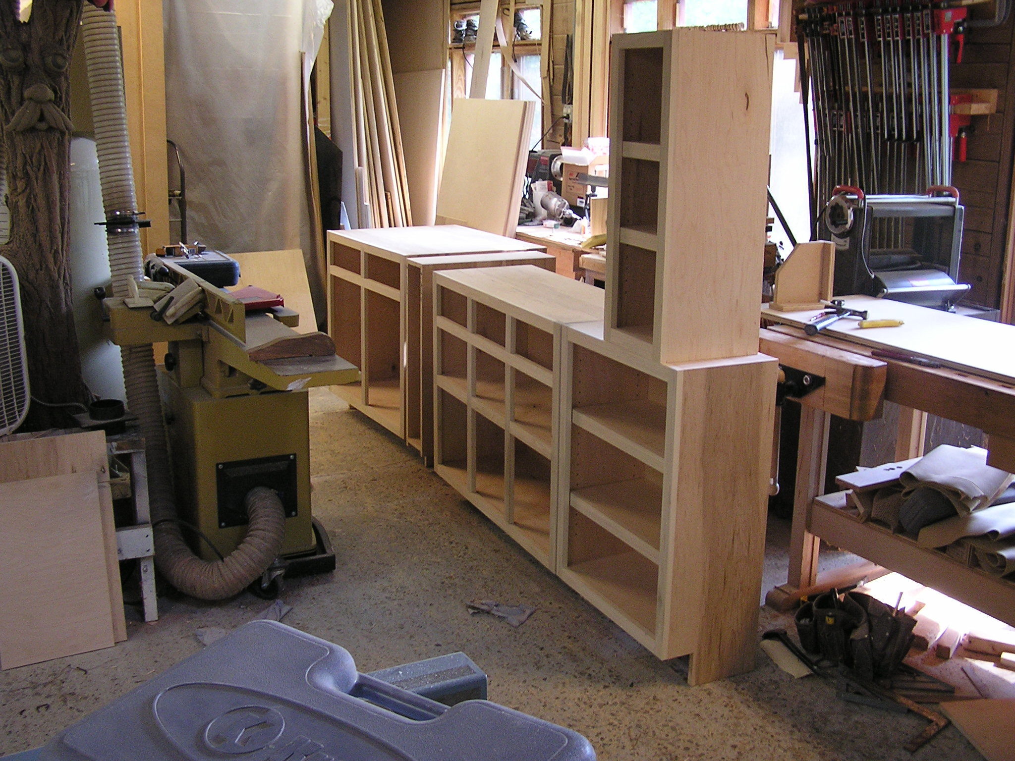 Cabinets in Progress