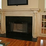 fireplace, mantel , &Cabinets