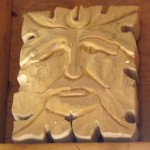 Custom Green Man Carving Wood: Bass Wood In progress will post finish carving soon