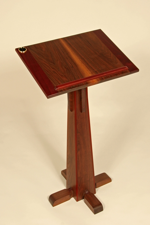 podium with clock $1,400.00