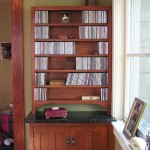 CD Storage Cabinet made out of Cherry