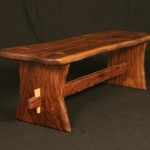 walnut bench a