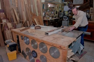 Don @ table saw